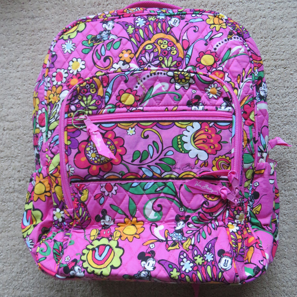 cc14eca624a7 VERA BRADLEY Disney Just Mousing Around backpack